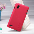 Nillkin Super Matte Hard Case Skin Cover for BBK vivo E5 - Red (High transparent screen protector)