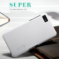 Nillkin Super Matte Hard Case Skin Cover for BlackBerry Z10 - White (High transparent screen protector)