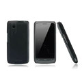 Nillkin Super Matte Hard Case Skin Cover for ZTE N880 U880 V880 N880S - Black (High transparent screen protector)