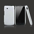 Nillkin Super Matte Hard Case Skin Cover for ZTE N880 U880 V880 N880S - White (High transparent screen protector)