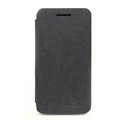 Nillkin leather Cases Holster Covers Skin for BlackBerry Z10 - Black (High transparent screen protector)