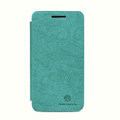 Nillkin leather Cases Holster Covers Skin for BlackBerry Z10 - Green (High transparent screen protector)