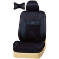 VV Lyocell mesh Custom Auto Car Seat Cover Set - Black