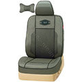 VV Lyocell mesh Custom Auto Car Seat Cover Set - Dark green