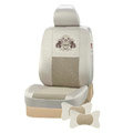 VV Menes mesh Custom Auto Car Seat Cover Set - Beige