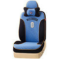 VV Sports mesh Custom Auto Car Seat Cover Set - Blue Black