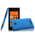 IMAK Cowboy Shell Hard Case Cover for HTC 8X C620e - Blue (High transparent screen protector)