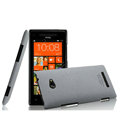 IMAK Cowboy Shell Hard Case Cover for HTC 8X C620e - Gray (High transparent screen protector)