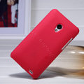 Nillkin Super Matte Hard Case Skin Cover for MEIZU MX2 - Red (High transparent screen protector)