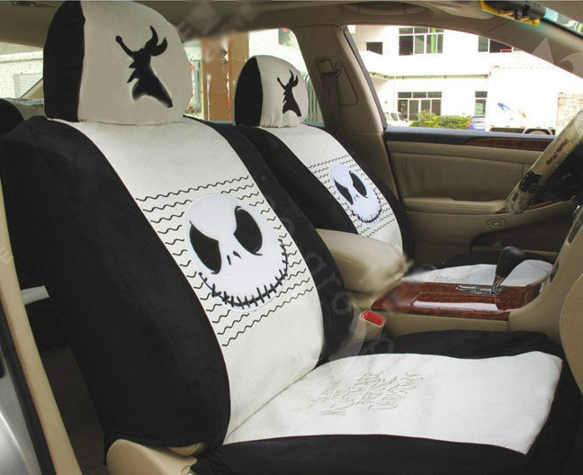 Buy Wholesale Disney Skull Custom Auto Car Seat Cover Set