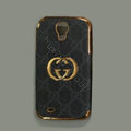 GUCCI leather Case Hard Back Cover for Samsung GALAXY S4 I9500 SIV - Black
