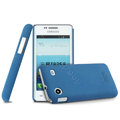 IMAK Cowboy Shell Hard Case Cover for Samsung i8258 - Blue (High transparent screen protector)