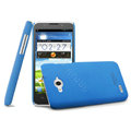 IMAK Cowboy Shell Hard Case Cover for ZTE N983 - Blue (High transparent screen protector)