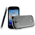IMAK Crystal Case Hard Cover Transparent Shell for Coolpad 5890 - White