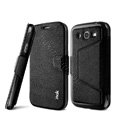 IMAK Squirrel lines leather Case support Holster Cover for Samsung i9080 i9082 Galaxy Grand DUOS - Black