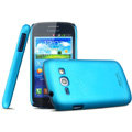 IMAK Ultrathin Matte Color Cover Hard Case for Samsung i829 Galaxy Style Duos - Blue (High transparent screen protector)