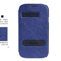 Nillkin EASY leather Case Holster Cover Skin for Samsung i9080 i9082 Galaxy Grand DUOS - Blue