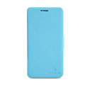 Nillkin Fresh leather Case Bracket Holster Cover Skin for BBK vivo X1 - Blue