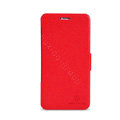 Nillkin Fresh leather Case Bracket Holster Cover Skin for BBK vivo X1 - Red