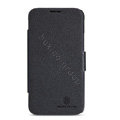 Nillkin Fresh leather Case Bracket Holster Cover Skin for Lenovo A820 - Black