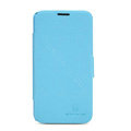 Nillkin Fresh leather Case Bracket Holster Cover Skin for Lenovo A820 - Blue