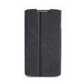 Nillkin Fresh leather Case Bracket Holster Cover Skin for Lenovo S868t - Black