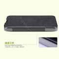 Nillkin Fresh leather Case Bracket Holster Cover Skin for ZTE N983 - Black