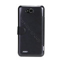 Nillkin Fresh leather Case Bracket Holster Cover Skin for ZTE V987 - Black