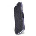 Nillkin Fresh leather Case button Holster Cover Skin for Samsung GALAXY S4 I9500 SIV - Black