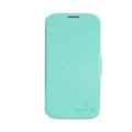 Nillkin Fresh leather Case button Holster Cover Skin for Samsung GALAXY S4 I9500 SIV - Green