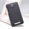 Nillkin Super Matte Hard Case Skin Cover for HTC E1 603e - Black (High transparent screen protector)