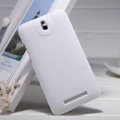 Nillkin Super Matte Hard Case Skin Cover for HTC E1 603e - White (High transparent screen protector)