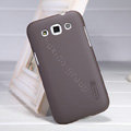 Nillkin Super Matte Hard Case Skin Cover for Samsung i8552 Galaxy Win - Brown (High transparent screen protector)