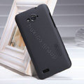 Nillkin Super Matte Hard Case Skin Cover for ZTE N983 - Black (High transparent screen protector)