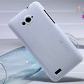 Nillkin Super Matte Hard Case Skin Cover for ZTE N983 - White (High transparent screen protector)