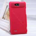 Nillkin Super Matte Hard Case Skin Cover for ZTE V987 - Red (High transparent screen protector)