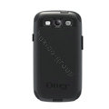 Original Otterbox Commuter Case Cover Shell for Samsung Galaxy SIII S3 I9300 I9308 I939 I535 - Black