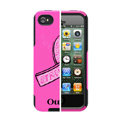 Original Otterbox Commuter Case Ribbon Cover Shell for iPhone 4G 4S - Rose