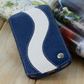 Melkco Flip leather Case Luxury Holster Covers for Samsung i9250 GALAXY Nexus - Blue
