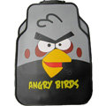 Angry Birds Universal Automobile Carpet Car Floor Mat Rubber Cartoon 5pcs Sets - Black