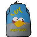 Angry Birds Universal Automobile Carpet Car Floor Mat Rubber Cartoon 5pcs Sets - Blue