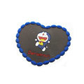 Doraemon Automobile Non-Slip Mat PVC Cartoon Car Anti-Slip Mat Heart - Blue