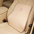 GIGI Auto Car Lumbar Pillows Synthetic Fiber Cotton - Beige