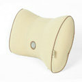 GIGI Auto Car Lumbar Pillows Synthetic Fiber Cotton Bow - Beige