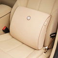 GIGI Auto Car Lumbar Pillows Synthetic Fiber Cotton Square - Beige