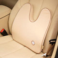GIGI Auto Car Lumbar Pillows Synthetic Fiber Cotton U - Beige