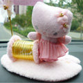 Hello Kitty Card Clip Automobile Non-Slip Mat Plush Car Anti-Slip Mat Staff - Pink