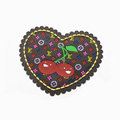 LV Automobile Non-Slip Mat PVC Cherry Car Anti-Slip Mat Heart - Yellow