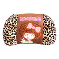 Mocmoc Auto Car Lumbar Pillows Plush Cotton Leopard - Brown
