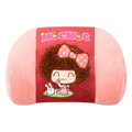 Mocmoc Auto Car Lumbar Pillows Plush Cotton - Red